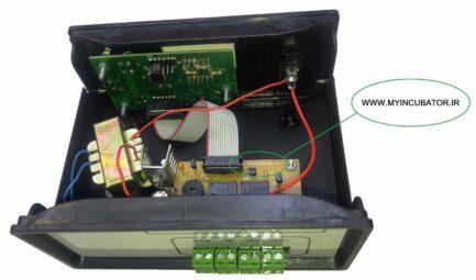 کنترل کننده دیجیتال دستگاه جوجه کشی مدل INC10